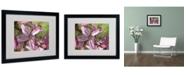 """Trademark Global Monica Fleet 'Refined Grace' Matted Framed Art - 20"""" x 16"""""""