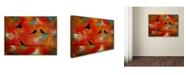 "Trademark Global Nicole Dietz 'Birds of Flight' Canvas Art - 24"" x 18"""