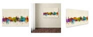 "Trademark Global Michael Tompsett 'Victoria Canada Skyline' Canvas Art - 22"" x 32"""