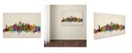 "Trademark Global Michael Tompsett 'New York Skyline' Canvas Art - 21"" x 28"""