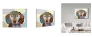 "Trademark Global Lanre Adefioye 'Dachshund' Canvas Art - 14"" x 19"""