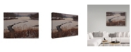 "Trademark Global Rusty Frentner 'Nature Center Drain Off' Canvas Art - 14"" x 19"""
