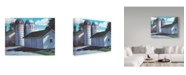 "Trademark Global Rusty Frentner 'Silos' Canvas Art - 14"" x 19"""