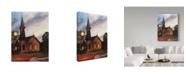 "Trademark Global Rusty Frentner 'Pauls Big Night' Canvas Art - 14"" x 19"""