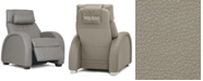 "Furniture Pachna 33"" Leather Power Recliner"