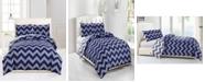 kensie Wyatt Reversible 3-Pc. Full/Queen Comforter Set