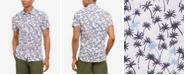 Kenneth Cole Men's Breezy Palm Print Shirt