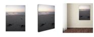 """Trademark Global Monica Fleet 'Unforgotten Steps' Canvas Art - 14"""" x 19"""""""