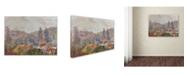 "Trademark Global Manor Shadian 'Misty Morning' Canvas Art - 14"" x 19"""