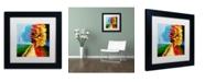 "Trademark Global Ricardo Tapia 'Walk in the Park' Matted Framed Art - 11"" x 11"""