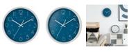"La Crosse Technology La Crosse Clock 13"" Weekender Quartz Analog Wall Clock"