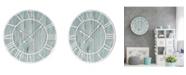 "La Crosse Technology La Crosse Clock 23.5"" Harbor Tides Wall Clock"