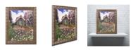 """Trademark Global David Lloyd Glover 'The Painter's Studio' Ornate Framed Art - 11"""" x 14"""""""