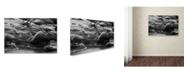"Trademark Global Jason Shaffer 'Lake Erie Waves' Canvas Art - 24"" x 16"""