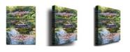 "Trademark Global David Lloyd Glover 'Giverny Reflections' Canvas Art - 24"" x 18"""