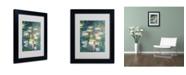 """Trademark Global Claude Monet 'Water Lilies V 1840-1926' Matted Framed Art - 14"""" x 11"""""""