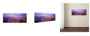 "Trademark Global David Evans 'The Grand Canyon' Canvas Art - 24"" x 8"""