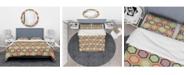 Design Art Designart 'Traditional Japanese Pattern' Modern and Contemporary Duvet Cover Set - Queen