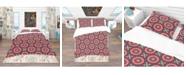 Design Art Designart 'Vintage Decorative Elements' Bohemian and Eclectic Duvet Cover Set - Queen