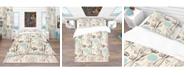 Design Art Designart 'Vintage Flower Pattern' Bohemian and Eclectic Duvet Cover Set - Queen