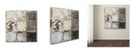 "Trademark Global Color Bakery 'Tintypes' Canvas Art - 24"" x 24"""