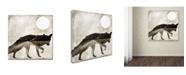 "Trademark Global Color Bakery 'Going Wild II' Canvas Art - 14"" x 14"""