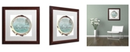 "Trademark Global Color Bakery 'Paris in Frames 4' Matted Framed Art - 16"" x 16"""
