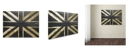 "Trademark Global Color Bakery 'Fashion Flag IV' Canvas Art - 14"" x 19"""