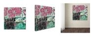 "Trademark Global Color Bakery 'Serendipity II' Canvas Art - 24"" x 24"""