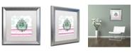 "Trademark Global Color Bakery 'Soul Food III' Matted Framed Art - 16"" x 16"""