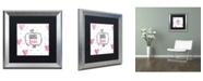 """Trademark Global Color Bakery 'Soul Food IV' Matted Framed Art - 16"""" x 16"""""""