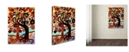 "Trademark Global Natasha Wescoat '072' Canvas Art - 18"" x 24"""