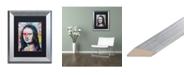 "Trademark Global Dean Russo 'Mona Lisa' Matted Framed Art - 11"" x 14"""