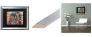 "Trademark Global Dean Russo 'Tiva' Matted Framed Art - 16"" x 20"""