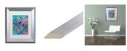 """Trademark Global Carrie Schmitt 'Exhalation' Matted Framed Art - 11"""" x 14"""""""