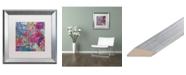 """Trademark Global Carrie Schmitt 'Floating' Matted Framed Art - 16"""" x 16"""""""