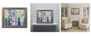 """Trademark Global Carrie Schmitt 'Tadasana' Ornate Framed Art - 16"""" x 20"""""""