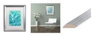 "Trademark Global Natasha Wescoat '119' Matted Framed Art - 16"" x 20"""