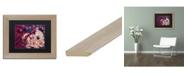"Trademark Global Natasha Wescoat 'Little Briar Rose' Matted Framed Art - 11"" x 14"""