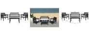 Safavieh Carson 4Pc Outdoor Seating Set