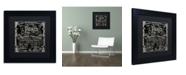 """Trademark Global Color Bakery 'Paris Bistro VI' Matted Framed Art - 11"""" x 11"""""""