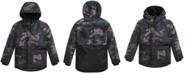 Michael Kors Big Boys Camo-Print Snorkel Jacket