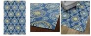 "Kaleen Helena 3211-17 Blue 5' x 7'9"" Area Rug"
