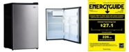 SPT Appliance Inc. SPT 4.4 cubic feet Compact Refrigerator with Energy Star - Stainless