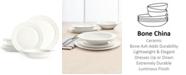 Hotel Collection Round Rim Bone China  12-Pc. Bone Dinnerware Set, Created for Macy's