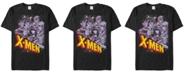 Marvel Men's Comic Collection Vintage X-Men Team Logo Short Sleeve T-Shirt