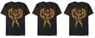Marvel Men's Comic Collection The Phoenix Rises Short Sleeve T-Shirt