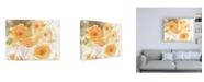 "Trademark Global Sheila Golden Autumn Garden Water Color Canvas Art - 15.5"" x 21"""