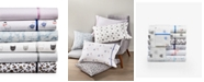 Martha Stewart Collection Novelty Print Sheet Sets, 250 Thread Count 100% Cotton, Created for Macy's