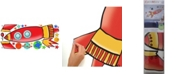 York Wallcoverings Rocket Peel and Stick Giant Wall Decals